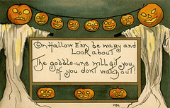 On Halloween Be Wary and Look About