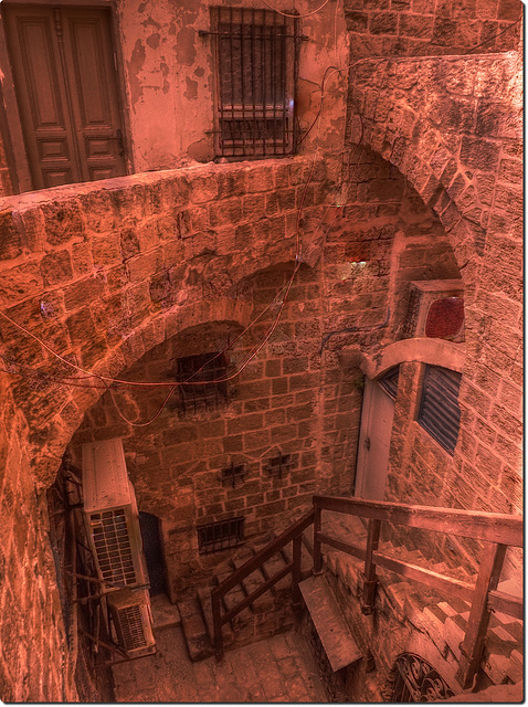 stairwell 13 hdr