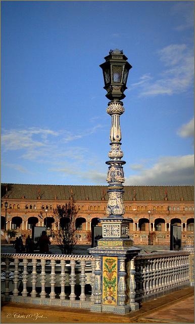 Plaza de España, Sevilla.........
