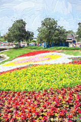 Flower Garden Festival 3 Topaz Filter Impressionistic