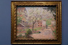 """Pruniers en fleur à Eragny"" (Camille Pissarro - 1894)"