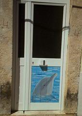 Dolphin of Sado estuary.