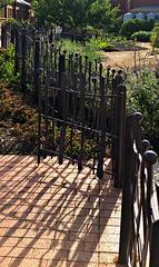 kitchen garden fence