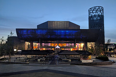 Lowry Theatre At Dusk