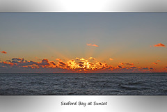 Seaford Bay at Sunset - 14.1.2016