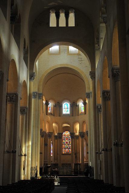Basilique N.D du Port à Clermont-Ferrand