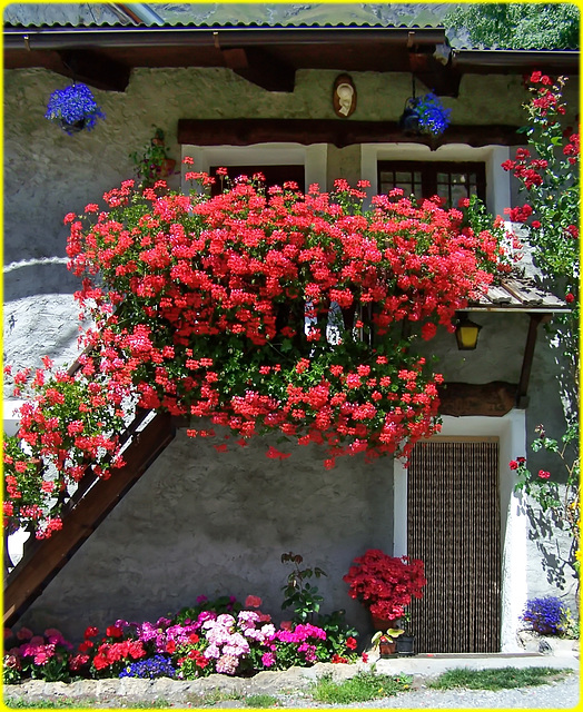 Balconi fioriti : SPC 6/2018 - 2° place 7,5v - Rochemolles