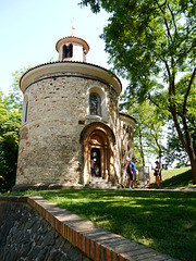Prag, St. Martins-Rotunde in Vyšehrad / Prague, St. Martin's rotunda at Vyšehrad