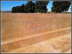 Cimetières militaires Britanique - Medjez El Bab -Tunisie
