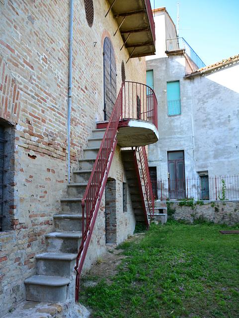 Mombaroccio 2017 – Stairs