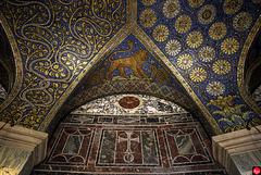 Decke im Sechzehneck, Aachener Dom (4 x PiP)