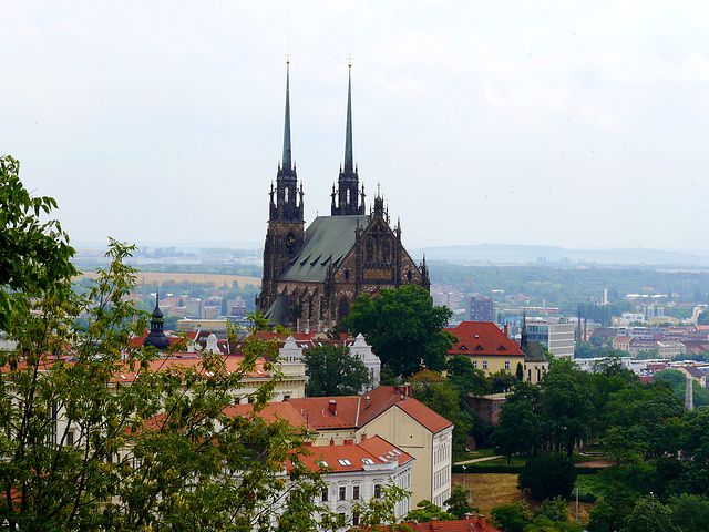 Peter & Paul Kathedrale in Brünn / Peter & Paul Cathedral at Brno