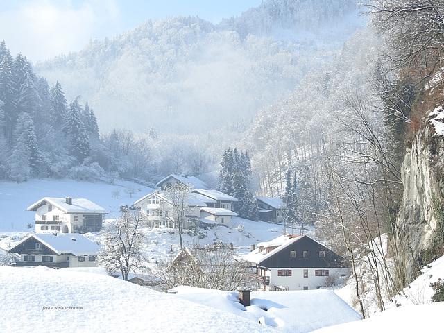 Idyll im Schnee