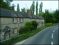 Woodstock terraced cottages