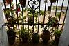 Ayamonte, Palacio de los Marqueses, ventana sobre el patio, HFF