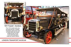 LT Museum Leyland Torpedo charabanc