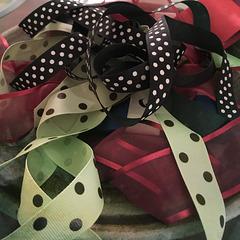Ribbons and polka dots