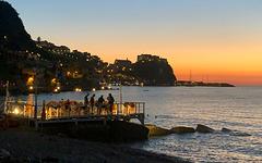 Scilla, cena sul mare