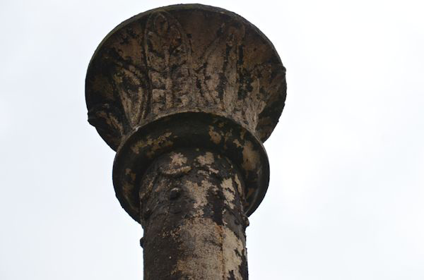 Old street lamp detail