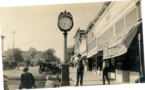 Hahn Bros. Clock (Rotated)