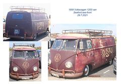 1959 VW van Seaford 29 7 2021