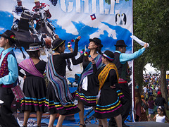 Chileans Dancing in Their New Home Edmonton