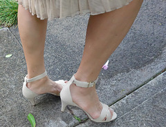 wife's gorgeous legs and feet