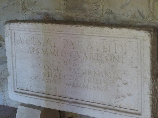 Musée archéologique de Split : CIL III, 2617.
