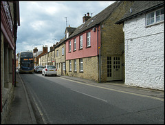 bus in Acre End Street