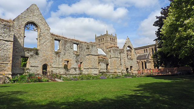 The Bishops Palace at Southwell
