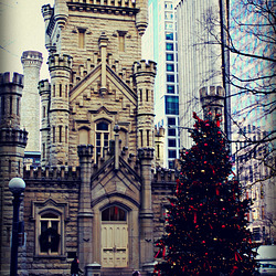Old Water Tower Christmas - City of Chicago
