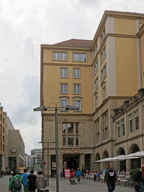 Dresden, Café Prag