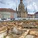 Grabungsstätte an der Frauenkirche