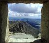 Granite and concrete lookout hut on El Cancho Gordo