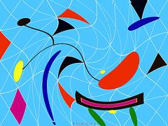Joan Miro Homage