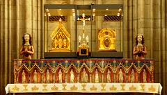 DE - Köln -  St. Ursula, Schreine von Ursula und Aetherius