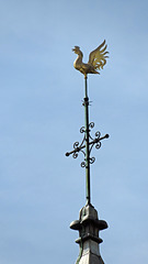 Atop the towers wind vane 2