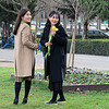 Two romantic Korean girls