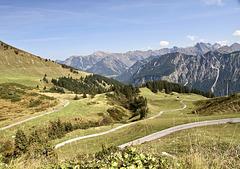 Wandergebiet am Fellhorn