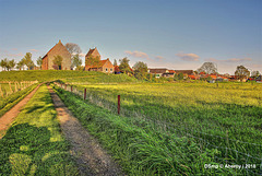 Ezinge,Groninger Landschap,the Netherlands,Europe