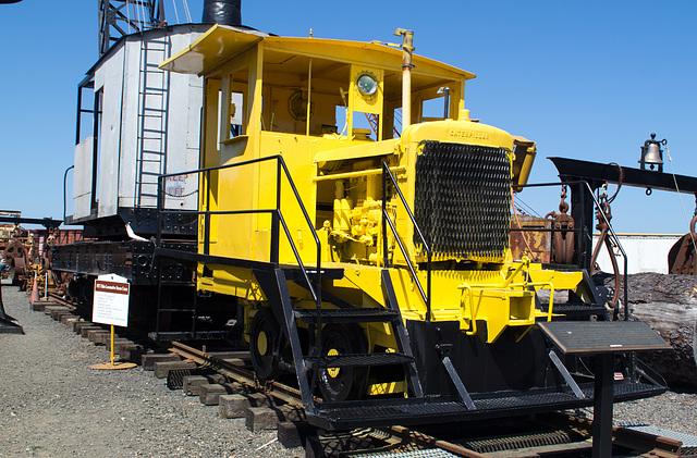 Coos Bay, Oregon Hist. Rail.  Plymouth Locomotive (#1109)