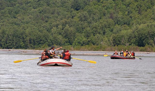 Rafting The Chilkat River