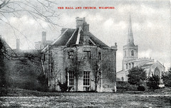 The Hall, Wilsford, Lincolnshire (Demolished)