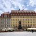 Steigenberger Hotel und Denkmal von Friedrich August II, König von Sachsen
