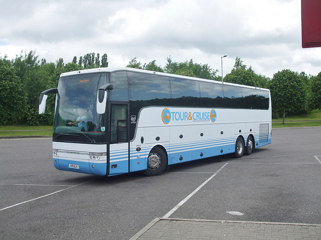 DSCF7630 Tour2Cruise.com A9 XLA (YJ57 EYP) at Norton Canes - 15 Jun 2017