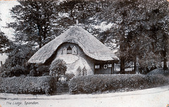 The Lodge to Field House, Spondon, Derby, Derbyshire (Demolished)