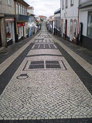 Portuguese pavement.
