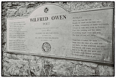 FUTILITY.  Wilfred Owen.