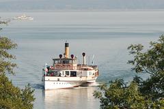 """""""Dampf""""schifffahrt auf dem Chiemsee"""