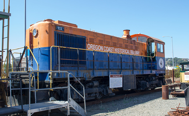 Coos Bay, Oregon Hist. Rail. diesel (#1113)